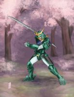 Ronin Warriors - Sage of the Halo by BrandyWoods
