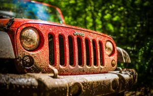 Red Jeep by Skmaster666