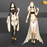 [Closed]Adoptable Outfit (Sands 3-4) by Anneysa
