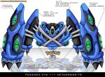 Pokedex 376 - Metagross FR by Pokemon-FR
