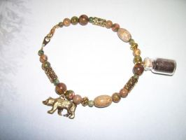 Black Bear Spirit Totem Charm Bracelet -SOLD- by DaybreaksDawn