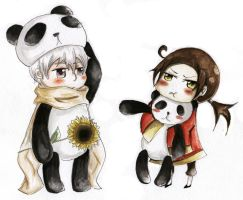 RoChu panda ^^ by TiaSunflower