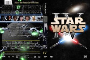 Star Wars: A New Hope Custom DVD Cover by SUPERMAN3D