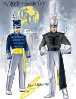 The Cadets of Gotham City by Becorps