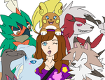 Pokemon Sun Team by draizor007