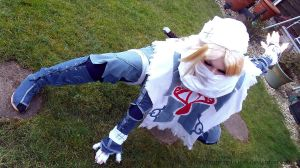 Sheik Cosplay 2 by TheBlindProphetess