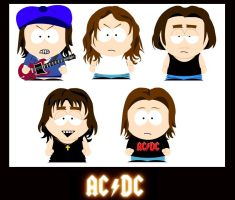 Classic ACDC South Park Style by Tigga21