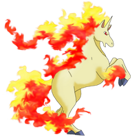50 Pokemon #15-Rapidash by MegBeth