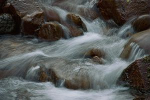 Parfrey's Glen Creek by papatheo