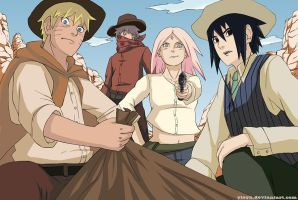 Team 7_western au by yleyn