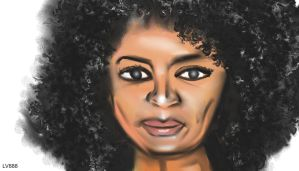 Woman face study n76 by lv888