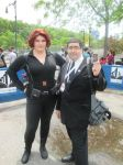 Black Widow and Coulson by Kronos2501