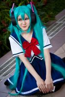 Vocaloid: Miku by Golgolak