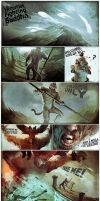 Monkey king comic strip by bradwright