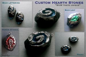 Custom Hearth Stones by GandaKris