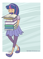 reading is magic by kennasaur