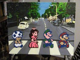 Pixel Art :: Abbey Toad by DodgeBall