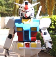 RX78 Cosplay 1 by UbersCosplay