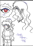 The Many Faces of Naraku Sketch Dump by 564223gurl