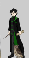 Mori as a Hogwarts Student by spock1234
