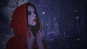 My Bloody Red Riding Hood by LeandroSilvArt