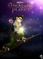Treasure Planet poster by DolphyDolphiana