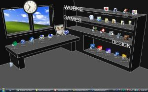 My Dimensional Desktop by Maxor-GWD