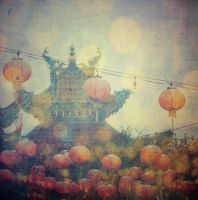 Wired Lanterns by EmiNguyen