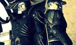 Stryker and Raiden (AT) by MistressNasty