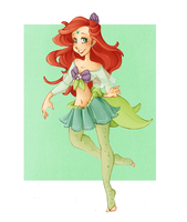 Sailor Ariel Redux by VioletKy