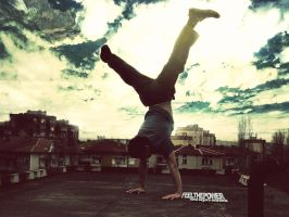 Handstand by hydezz