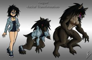 August's Jackal Transformation by Sephzero