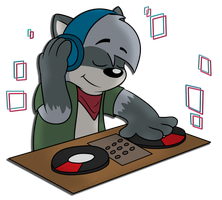 DJ Rodney by Cartcoon