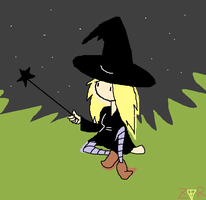 Whitney the Witch by Zane-The-Mudfish
