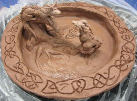 Dragon Plate process I by Asaryn