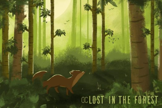 Lost in the forest by CookiesOChocola