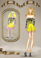 Childhood fashion sketches revisited 5 by BasakTinli