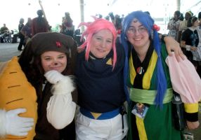 Tenchi Girls by Rose-Vicious