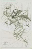 Batgirl- PENCILS by ZUCCO-ART