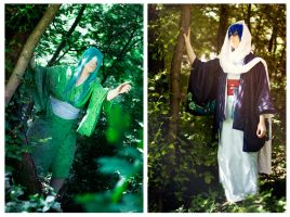 Vocaloid - The Ogre and the Maiden by Another-Rose