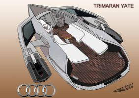 YATE TRIMARAN AUDI by DRAGHONS