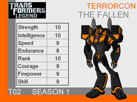 Transformers: Legend T02 - (The Fallen) by skyscream1
