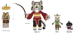 My Kung Fu Panda Persona - Nian Yu and Company by Envytheskunk