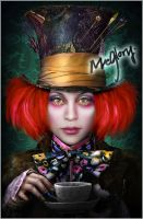 my version of Mad Hatter by mcglory