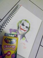 Playin' with crayons by Coffin-kiss