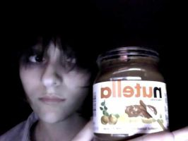 Death Note: L meets Nutella! by FrozenCherryBunny