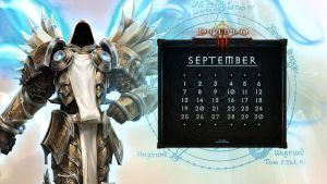 Calendar #15: Uni September - Tyrael by Holyknight3000