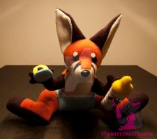 baby fox pup - for sale! by FurryFursuitMaker