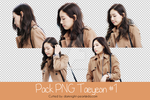 [191013] Render Pack #1 - 5 Taeyeon renders by darknight-pearl
