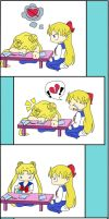 Usagi has all the answers... by pheona
